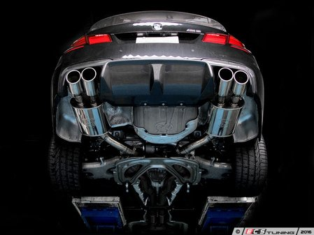 ES#3175985 - 4101-21014 - Sport Muffler - Quad Tip - Good looks and a performance sound for your BMW - 3D Design - BMW