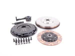 ES#3021849 - BFI20F240ST3 - BFI Stage 3 Clutch Kit - Forged Steel Flywheel (18.85lbs) - Includes a lightweight 4140 forged steel flywheel, performance pressure plate and ceramic clutch disk. Rated for 450wtq. - Black Forest Industries - Volkswagen