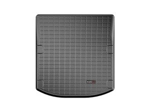 ES#3176686 - 40863 - Rear Trunk Liner - Black - The best protection for your trunk in any situation - WeatherTech - Audi