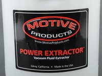 ES#3168425 - 1701 - Power Extractor - 1 Gallon - Change your oil or extract differential fluid with this tool. - Motive - Audi BMW Volkswagen Mercedes Benz MINI Porsche