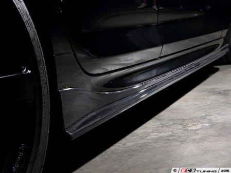 ES#3175892 - 3104-20611 - Carbon Fiber Side Skirts - Individualize your BMW's looks with these carbon fiber side skirts - 3D Design - BMW