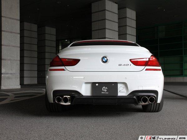 ES#3175919 - 3108-20621 - Carbon Fiber Rear Diffuser - Quad Exhaust - Individualize your BMW's looks with this carbon fiber rear diffuser - 3D Design - BMW