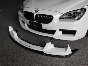 ES#3175855 - 3101-20611 - Carbon Fiber Front Lip Spoiler Set - Individualize your BMW's looks with this carbon fiber lip spoiler - 3D Design - BMW