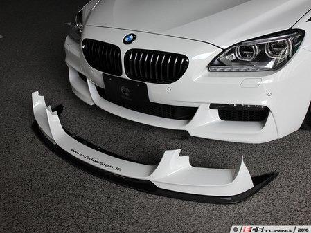 ES#3175855 - 3101-20611 - Carbon Fiber Front Lip Spoiler Set - Individualize your BMW's looks with this carbon fiber lip spoiler - 3D Design - BMW