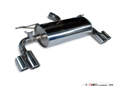 ES#3175987 - 4101-23012 - Sport Muffler - Quad Tip - Good looks and a performance sound for your BMW - 3D Design - BMW