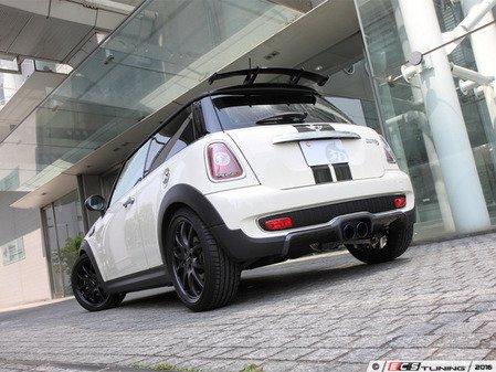 ES#3175944 - 3108-75611 - Rear Diffuser - Carbon Fiber  - Individualize your MINI's looks with this rear diffuser ; NON PDC version Cooper S rear Bumper - 3D Design - MINI