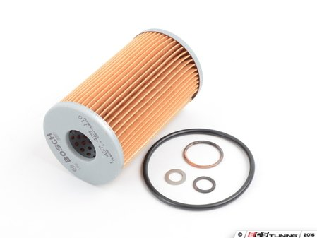 ES#2703403 - 0001800009 - Oil Filter Kit - Priced Each - Includes all o-rings needed for installation - Bosch - Mercedes Benz