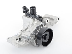 ES#3101768 - 11518601366 - Coolant Pump with Thermostat and Support - Attaches to the side of the engine and pumps the coolant - Genuine MINI - MINI