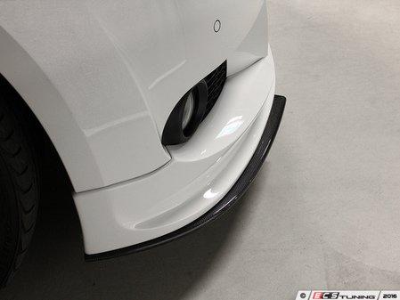 ES#3175884 - 3102-19222 - Carbon Fiber Front Splitter - Individualize your BMW's looks with this carbon fiber splitter - 3D Design - BMW
