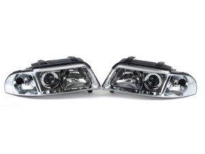 ES#2807937 - 3411107PUH1C - Xenon Headlight Set - Chrome - Ditch those stock headlights! - Depo - Audi