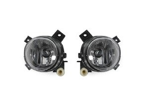 ES#3177906 - 4462002PUQBUH11x - Fog Light Set - Includes the left and right housings with halogen bulbs - Depo - Audi
