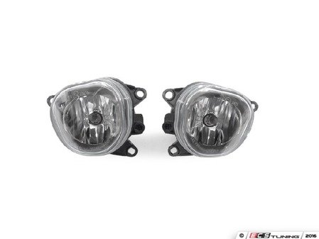 ES#3177901 - 3412004PUQBUH7x1 - Fog Light Set - Includes the left and right side fog light assemblies with bulbs! - Depo - Audi