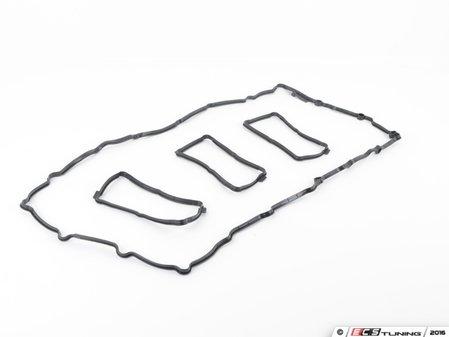 ES#3161786 - 11127587804 - Valve Cover Gasket Set - Original equipment gasket set from an original equipment supplier - Elring - BMW