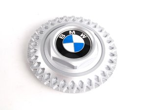 ES#65669 - 36131180777 - Style 17 Center Cap - Priced Each - Includes center roundel - Genuine BMW - BMW