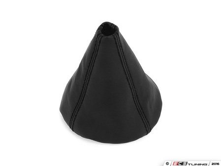 ES#3177987 - 5234-1H-501 - BFI Manual Leather Shift Boot - Black Stitching - Compliment your BFI shift knob with a custom shift boot made from the finest materials available - Black Forest Industries - Volkswagen