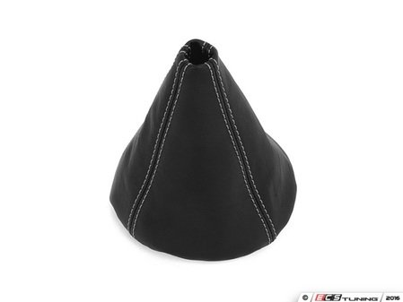ES#3177990 - 5234-1H-504 - BFI Manual Leather Shift Boot - Silver Stitching - Compliment your BFI shift knob with a custom shift boot made from the finest materials available - Black Forest Industries - Volkswagen