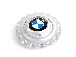 ES#65670 - 36131181068 - Style 5 Center Cap - Priced Each - Includes the center Roundel - Genuine BMW - BMW