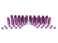 ES#3176136 - 20PC60PPCAPLK - Locking Capped Lug Nuts - Purple  - Set of 20 Purple Sickspeed Lug Nuts and caps. - Sickspeed - Audi BMW Volkswagen MINI