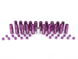 ES#3176136 - 20PC60PPCAPLK - Locking Capped Lug Nuts - Purple  - Set of 20 Purple Sickspeed Lug Nuts and caps. - Sickspeed - Audi BMW Volkswagen MINI