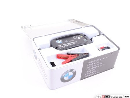 ES#3134861 - 82110049788 - BMW Battery Charger - 4 amp battery charger - select between standard/AGM and lithium batteries - Genuine BMW - BMW