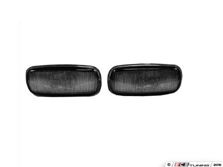 ES#2808103 - 4411408PUVS - Fender Side Marker Housing Set - Smoked - Includes the left & right side - Depo - Audi