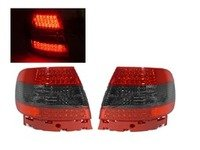 ES#2808120 - 4411953P4ASR - LED Tail Light Set - Red/Smoked - Upgrade your stock tails with these Smoked LED tail lights - Depo - Audi