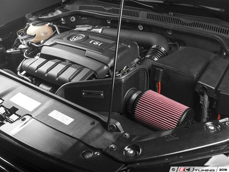 """ES#3098449 - 014722ECS01-01 - Luft-Technik Intake System - With Heat Shield & Wrinkle Black Aluminum Tubes - In House Engineered """"Air Technology"""" for maximum performance and stunning aesthetics - ECS - Volkswagen"""