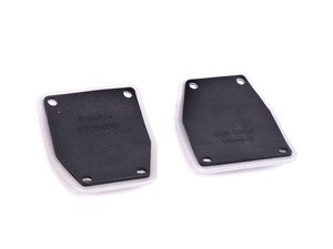 ES#3149183 - D700-0000 - Alumnium Pedal Cover Set - Style and performance for your interior - Dinan - BMW