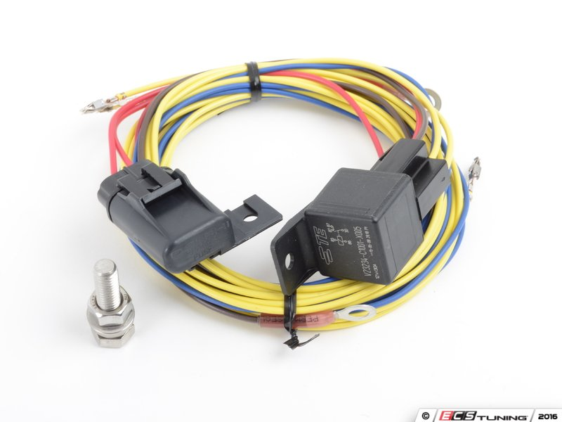 ECS - 1j0998000 - Fog Light Wiring Harness - For OE Fogs