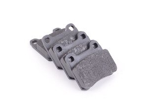 ES#252210 - 0004209820 - Rear Brake Pad Set - For Vehicles With Two (2) Retaining Pin Rear Brake Pads - TRW - Mercedes Benz