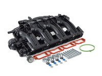 ES#3183606 -  06j133201bdKT - Complete Intake Manifold Service Kit - Inclusive kit provides new intake manifold, hardware, and gaskets for a complete installation. - Assembled By ECS - Audi Volkswagen