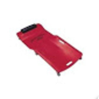 ES#2944924 - LIS92102 - Red Low Profile Plastic Creeper - Low profile creeper with body-fitting design - Lisle - Audi BMW Volkswagen Mercedes Benz MINI Porsche