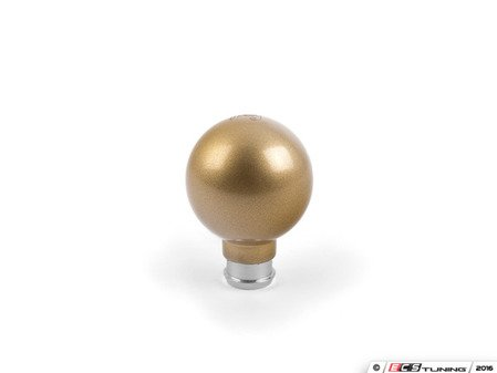 ES#3170748 - GOLDH-VW - Gold-E-Locks Heavyweight Shift Knob - Gold textured carbon steel shift knob with VW/Audi adapter weighing in at 545g! - Flossy - Audi Volkswagen MINI