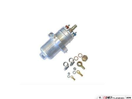 ES#3419589 - 034-106-6014 - Billet Drop-In Fuel Pump Upgrade Kit - Bosch Motorsport 044 - Features Motorsport Bosch 044 fuel pump with billet 034 mounting bracket for a direct-fit. - 034Motorsport - Audi