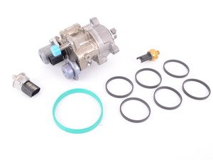 ES#3176649 - 13517616446rKT - High Pressure Fuel Pump Replacement Kit - Includes every thing needed to replace a failed HPFP. Includes new high and low pressure fuel sensors, gaskets, and Genuine BMW pump. - Assembled By ECS - BMW