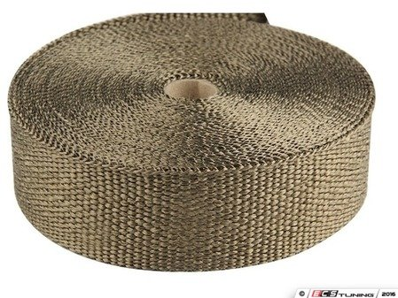 ES#4028212 - TS-EW-L - Universal Exhaust Wrap - Lava - Increase power by containing exhaust heat - Lava - Torque Solution - Audi BMW Volkswagen Mercedes Benz MINI Porsche