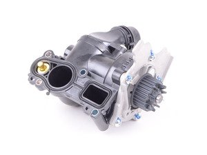 ES#3183402 - 06H121026DD - Water Pump Module - Includes the thermostat, temp sensor, and gasket - Rein - Audi Volkswagen