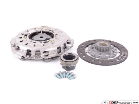 ES#41131 - 21212283648 - Remanufactured Clutch Kit - Manual Transmission - Includes clutch disc, pressure plate, and throw out bearing - Genuine BMW - BMW
