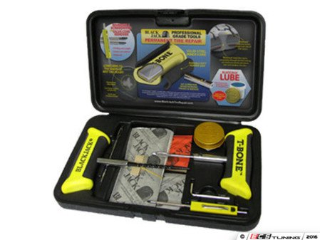 ES#3183765 - KT340 - Tire Repair Kit With T-Bone Handles And Screwdriver - Quick emergency tire repairs for all tires - Blackjack Tire Repair - Audi BMW Volkswagen Mercedes Benz MINI Porsche