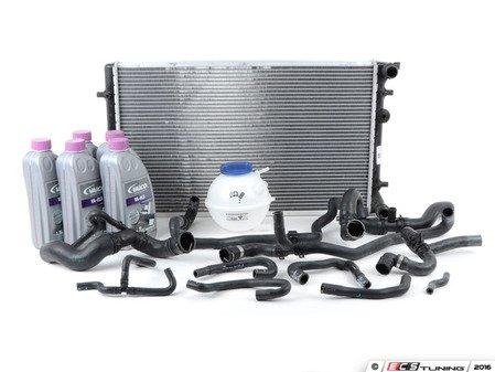 ES#2785210 - 1J0122051BCKT1 - Cooling System Refresh Kit - Addresses all aging rubber coolant hoses under your hood - Assembled By ECS - Volkswagen
