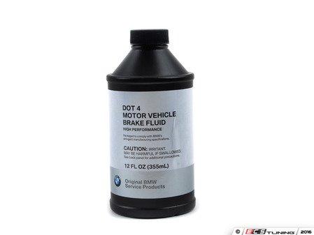 ES#193630 - 81220142156 - Brake Fluid - 355mL - A complete brake fluid flush will usually require three bottles. - Genuine BMW - BMW
