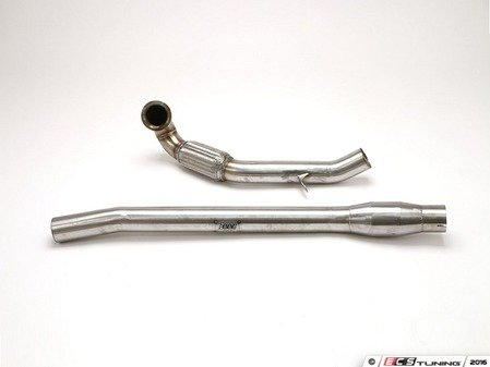 "ES#3136105 - FPIM-0468 - 3"" Downpipe - Includes High Flow Catalytic Converter - A great way to add power through the entire RPM range. - Billy Boat Performance - Volkswagen"