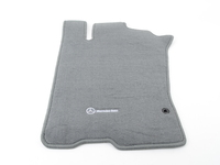 ES#1827762 - Q6680450 - Carpeted Floor Mat Set - Ash Color - Genuine Mercedes Benz - Mercedes Benz