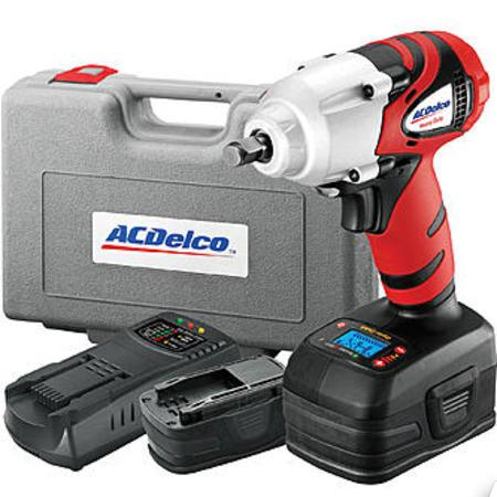 "ES#2931766 - ACDARI20120B - 18V 3/8"" Cordless Impact - Complete 3/8"" cordless kit for auto and home use - AC Delco - Audi BMW Volkswagen Mercedes Benz MINI Porsche"