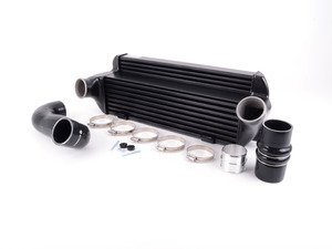 ES#3137936 - 200001044 - Wagner EVO 2 Competition Intercooler Kit  - Drastically increase your air flow rate, lower the intake air temperature, and drop your intercooler weight to 16.3lbs with this Performance intercooler! - Wagner Tuning - BMW