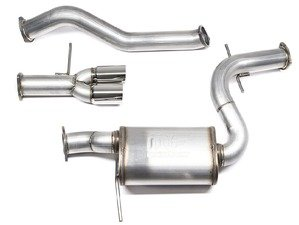 """ES#3184069 - 7229092 - Mk6 Jetta GLI 3"""" Stainless Steel Cat-Back Exhaust System  - Get that Exhaust tone you've been looking for! Featuring polished single-wall tips. - 42 Draft Designs - Volkswagen"""