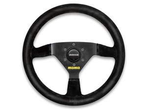 ES#3135822 - R1913/35S - MOMO MOD.69 Steering Wheel - 350mm - Customize your driving experience with this fine suede steering wheel - MOMO - Audi BMW Volkswagen Mercedes Benz MINI Porsche