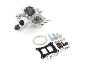 ES#3184161 - IS20PRFTRBKT - IS20 Turbo Upgrade Kit - Includes OEM GTI IHI IS20 turbocharger and all required installation hardware. - Assembled By ECS - Volkswagen