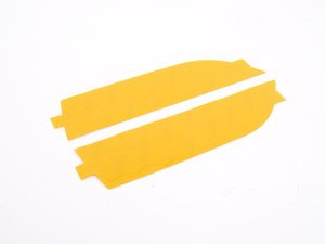ES#3183350 - A131Y - Fog Light Protective Film - Yellow - Euro looks and protection at the same time - Lamin-X - Audi