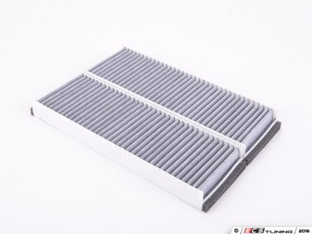 ES#3184031 - 4F0898438C - Cabin Filter / Fresh Air Filter (Charcoal Lined) - Set Of Two  - Total of two filters required - Recommended replacement every 12,000 miles - Meyle - Audi